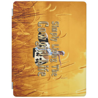 TEE Simply Living Cowgirl Life iPad Cover