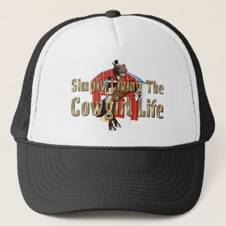 TEE Simply Living Cowgirl Life Trucker Hat