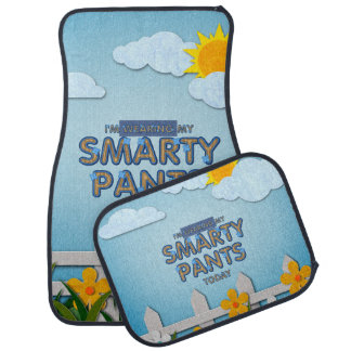 TEE Smarty Pants Car Floor Carpet