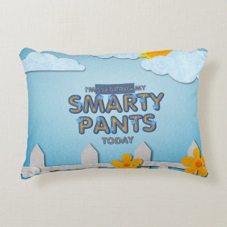 TEE Smarty Pants Decorative Pillow