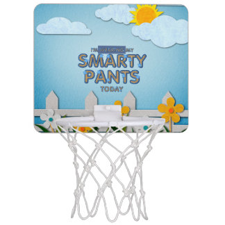 TEE Smarty Pants Mini Basketball Backboard
