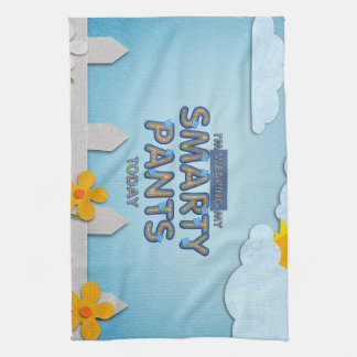 TEE Smarty Pants Towel