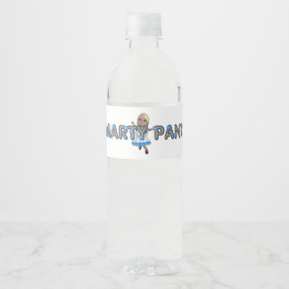 TEE Smarty Pants Water Bottle Label