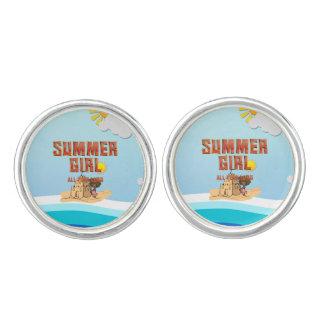 TEE Summer Girl Cufflinks