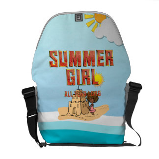 TEE Summer Girl Messenger Bag