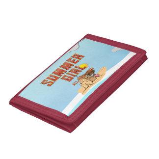 TEE Summer Girl Tri-fold Wallets