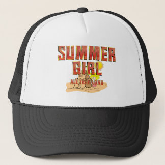 TEE Summer Girl Trucker Hat