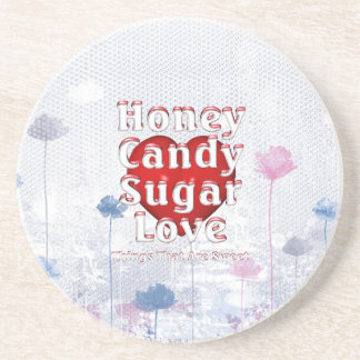 TEE Sweet Love Coaster