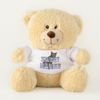 TEE Sweet Memes Teddy Bear