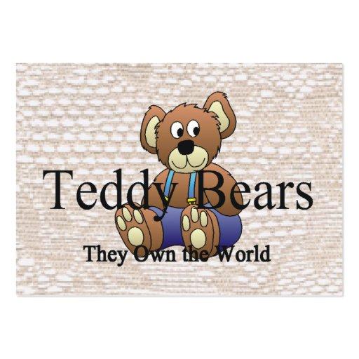 TEE Teddy Bear Mania Business Card Templates