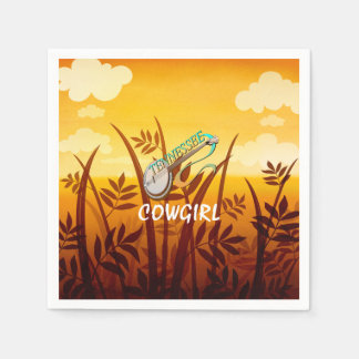 TEE Tennessee Cowgirl Paper Napkins