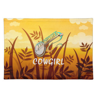 TEE Tennessee Cowgirl Placemat