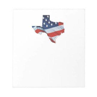 TEE Texas Patriot Notepad
