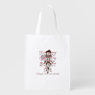 TEE Things That Are Sweet Reusable Grocery Bag