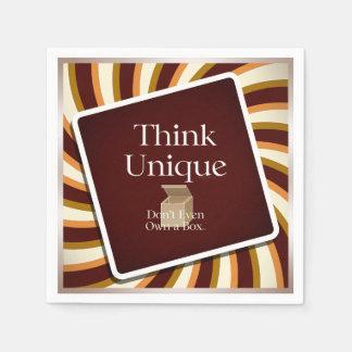 TEE Think Unique Disposable Napkins