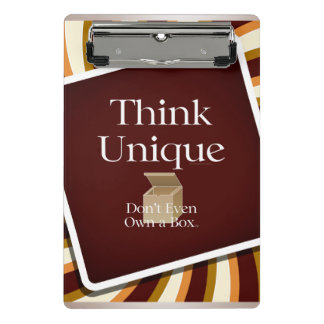 TEE Think Unique Mini Clipboard