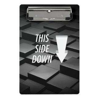 TEE This Side Down Mini Clipboard