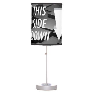 TEE This Side Down Table Lamp