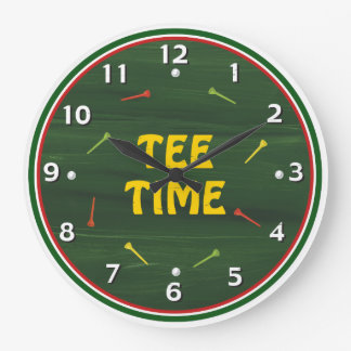 Tee Time Golf Clock