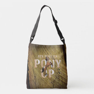 TEE Time to Pony Up Crossbody Bag
