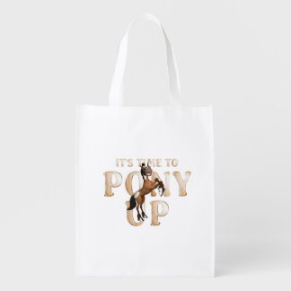 TEE Time to Pony Up Reusable Grocery Bags