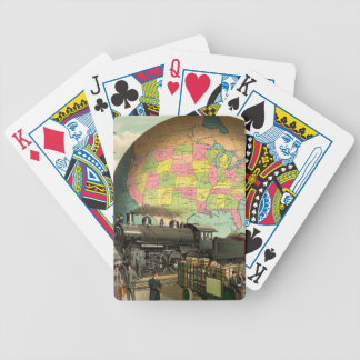 TEE Transportation Bicycle Playing Cards