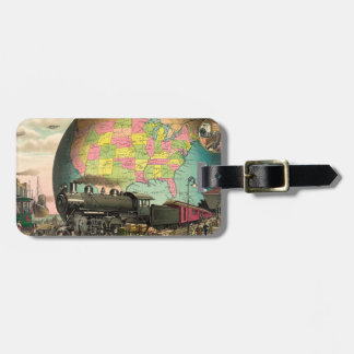 TEE Transportation Luggage Tag