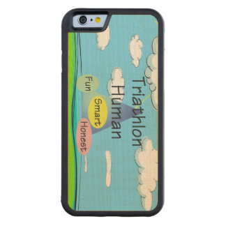 TEE Triathlon Human Maple iPhone 6 Bumper Case