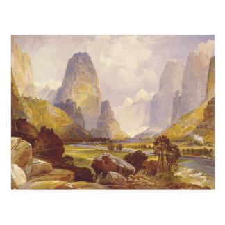 TEE Utah Canyons Postcard