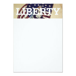 "TEE Value Liberty 5"" X 7"" Invitation Card"