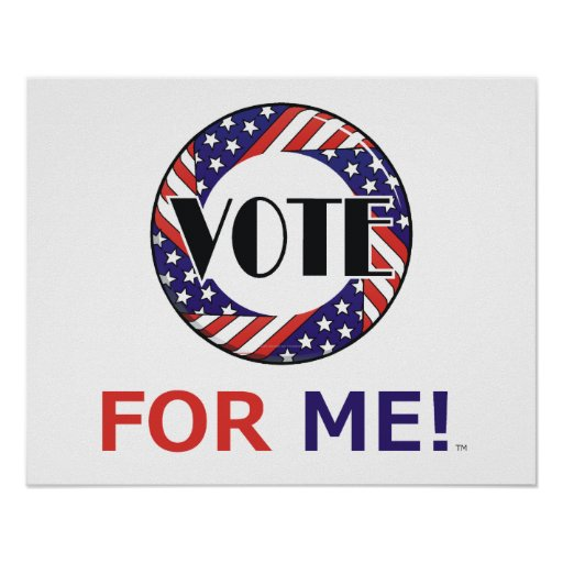TEE Vote For Me Posters