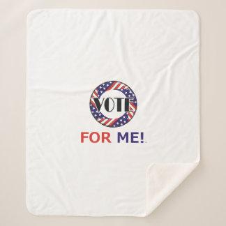 TEE Vote for Me Sherpa Blanket