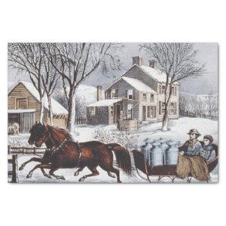TEE Winter Ride Tissue Paper