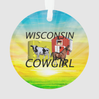 TEE Wisconsin Cowgirl