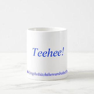 Teehee!, http://kellysthelyingthebitchthewardro... coffee mug