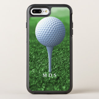 Teeing Off Golfer's Green Otterbox Personalized OtterBox Symmetry iPhone 7 Plus Case