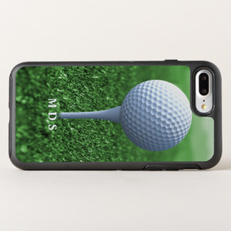 Teeing Off Golfer's Green Otterbox Personalized OtterBox Symmetry iPhone 8 Plus/7 Plus Case