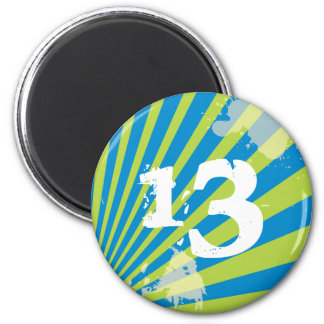 Teen Birthday Party Favor   |  Magnet