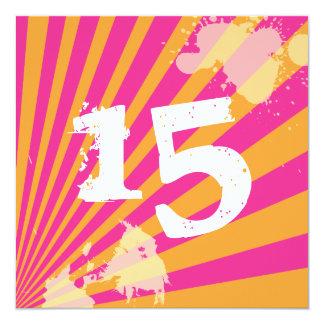 Teen Birthday Party Invitation | Girl