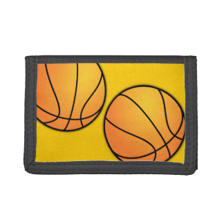 Teen Boys Basketball Image Wallet