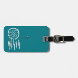 Teen Dreamcatcher Luggage Tag