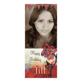 teen girl  birthday photo invite