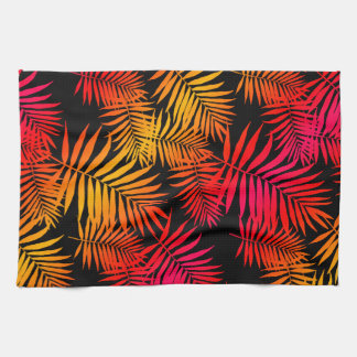Teen Girls Women's Decor Tropical Palm Tree Leaf Kitchen Towel