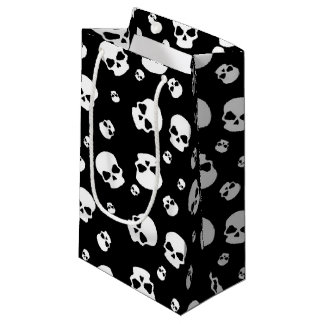 Teen kids unisex skull party bag