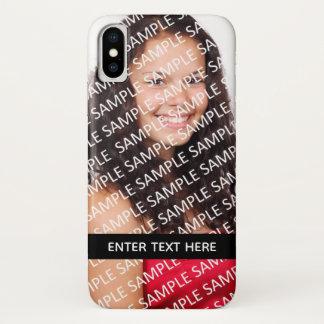 Teen Senior Portrait Photograph Gift Template Case-Mate iPhone Case