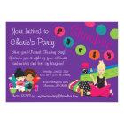 TEEN SLUMBER PARTY CARD
