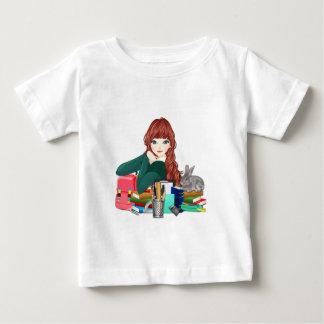 Teen Student Schoolgirl supplies back to school Baby T-Shirt