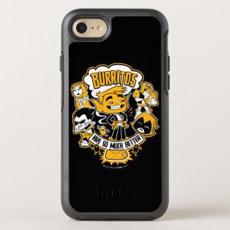 "Teen Titans Go! | Beast Boy ""Burritos Are Better"" OtterBox Symmetry iPhone 8/7 Case"