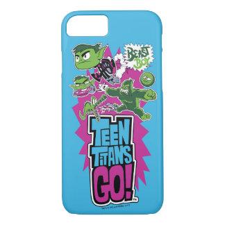 Teen Titans Go! | Beast Boy Shapeshifts iPhone 8/7 Case