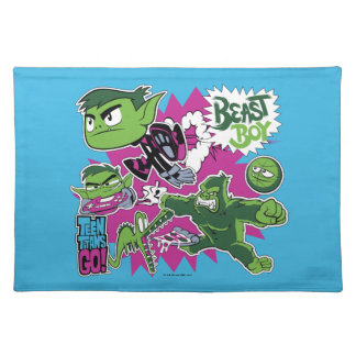 Teen Titans Go! | Beast Boy Shapeshifts Placemat